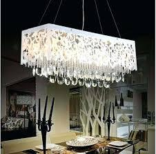 rectangular crystal chandeliers modern chandeliers dining room delightful modern chandelier rain drop dining room crystal chandelier
