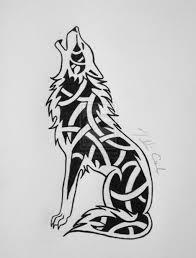 Pix For Celtic Wolf Knot хобби рисунки идеи для татуировок и