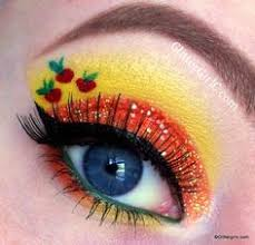 applejack inspired eye makeup sara will love all these my little pony