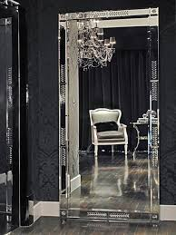 Contemporary Bedrooms From Michael Habachy On HGTV Large Floor Mirrors Are  A Great Way To Break Up A Space. This Venetian Mirror Acts As A Piece Of  Art, ...