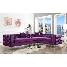 kaufman 120 wide velvet sofa chaise