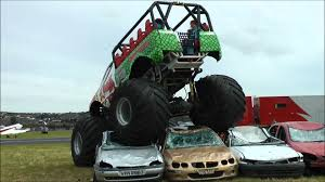 Monster Truck Crushing Cars Youtube