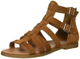 steve madden womens diver leather open toe casual gladiator sandals