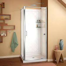 corner shower stall kits corner shower stall attractive stalls kits showers the home depot in 7
