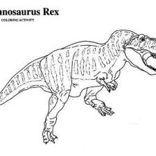 Small Picture Stripping T Rex Coloring Page Color Luna
