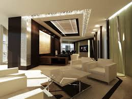 luxury office interior design. Others , Luxury And Modern Office Interior Design For CEO : Asymetrical Layout Concept Of CEO\u0027s Room O