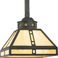 arts and crafts chandelier. Progress Lighting P5020-46 1-Light Mini-Pendant With Light Honey Art Glass, Weathered Bronze - Ceiling Pendant Fixtures Amazon.com Arts And Crafts Chandelier