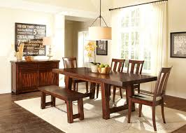 cherry wood dining table. Alluring Cindy Crawford Dining Room Set For Your Design: Transitional Cherry Wood Table