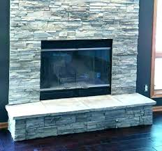 stone panels for fireplace faux stone fireplace panels install faux