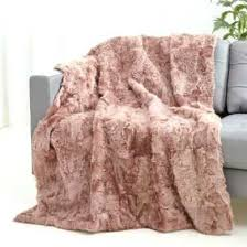 curly lamb fur throw soft dusty rose blanket colored blankets c pink throw blanket dusty