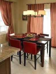 breakfast area furniture. Niche Decoration Ideas Dining Room Traditional With Breakfast Area Custom Window Treatments Red Furniture I