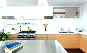 modern kitchen glass tile backsplash frosted glass frosted white glass smoked