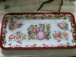 Daher Decorated Ware 11101 Tray DAHER DECORATED WARE METAL TRAY OLA 78