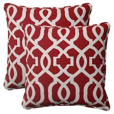 red accent pillows  home accessories  pinterest  red accents