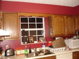 Kitchen Cabinets Painted Red White And Red Kitchen Buslineus