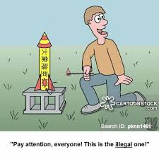 cartoon fire works illegal fireworks cartoons and comics funny pictures from cartoonstock