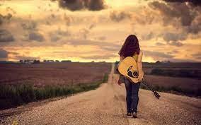 Guitar Girl MacBook Air Wallpaper ...