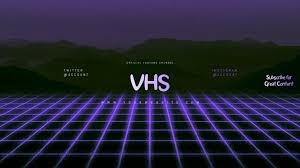 Vhs Youtube Channel Art Banner Template Postermywall