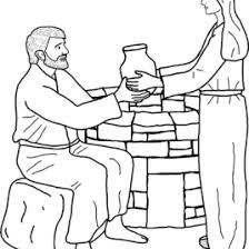 Small Picture Jesus And The Samaritan Woman Coloring Pages The Samaritan Woman
