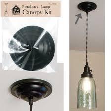 pendant lamp canopy kit 5