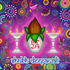 Diwali Kalash Designs Vector Design Of Diwali Decorated Kalash And Diya For Light Festival