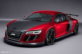 red audi r8 wallpaper.  Red ABT Audi R8 Red Desktop Wallpaper With
