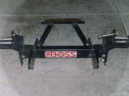 boss undercarriage mount push plate gb mechanical truck center go to boss truck undercarriage webpage need help determining which undercarriage you need to fit your boss snow plow to your utv