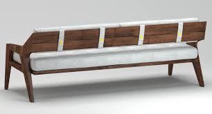 outdoor wooden sofa 3d cgtrader outdoor wooden sofa 3d model maobj fbmtl 5