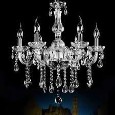 chandelier light fixtures. Image Is Loading Modern-Crystal-Chandelier-Lamp-6-Ceiling-lights-Pendant- Chandelier Light Fixtures