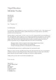 Cover Letter Examples For Elementary Teachers Teacher Cover Letter ...