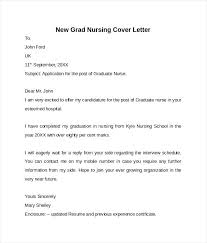 New Grad Nurse Cover Letter Sample Resume Template With New Grad ...