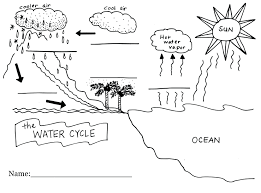 Flow Chart On Water Cycle Water Cycle Fill In Diagram Wiring Diagrams