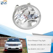 2017 Highlander Fog Light Zuk Fog Lamp Fog Light For Toyota Highlander Kluger 2011