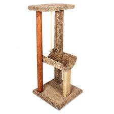 Whisker City Cozy Inn Cat Tree cat Furniture & Towers