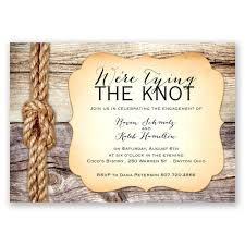 tying the knot engagement party invitation invitations by dawn The Knot Wedding Envelope Etiquette tying the knot engagement party invitation Stuffing Wedding Envelopes Etiquette
