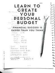Need Help Figuring Out How To Set Up A Personal Budget To