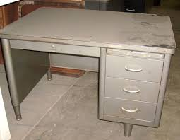 vintage metal office furniture. Contemporary Metal Metal Office Desk  Elegant To Vintage Furniture