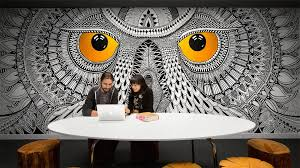 Cool office wallpaper Reception Area Stylist Design Ideas Cool Office Wallpaper 22 Incredibly Murals Creative Bloq Aku Ganteng Marvellous Inspiration Ideas Cool Office Wallpaper Aku Ganteng