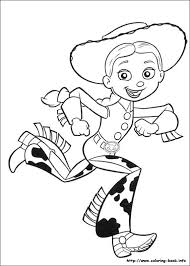 Toy Story 3 Coloring Picture ぬりえ ディズニーぬり絵イラスト