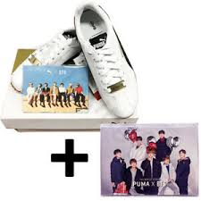 Bts Puma Shoes Size Chart Details About Bts Official Goods Puma X Bts Turin Shoes Photo Card Free Photobook 22page