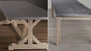 restoration hardware recalls metal top dining tables over lead exposure risk nbc 5 dallas fort worth