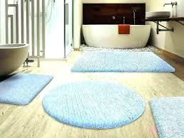 extra large bath rug non slip round bathroom rugs size crochet thick plush white cotton mat extra large size bathroom rugs