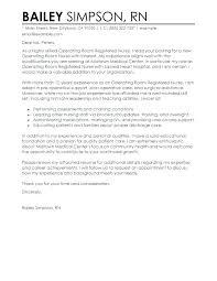 New Grad Rn Resume Cover Letter Resume Cover Letter Operating Room