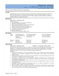 Assistant Resume Objective For Executive Assistant