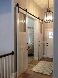 double glass barn doors. Sliding Barn Door Hardware, For Double Doors Glass B