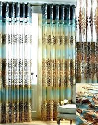 brown shower curtains. Aqua And Brown Shower Curtain Blue Curtains . 9
