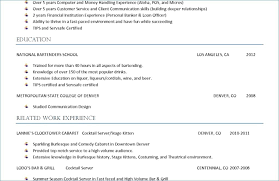 Waitress Description For Resumes. Bartender Job Description Resume ...