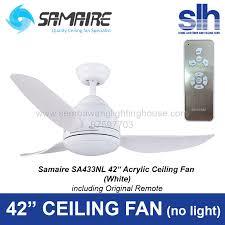 42 ceiling fan. Samaire-sa433nl-ceiling-fan-sembawang-lighting-house-wh- 42 Ceiling Fan