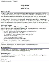Office Manager Cv Example Cv Examples Uk Admin Plks Tk