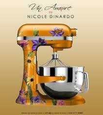 kitchenaid mixer yellow. kitchen aid mixer un amore by nicole dinardo kitchenaid yellow